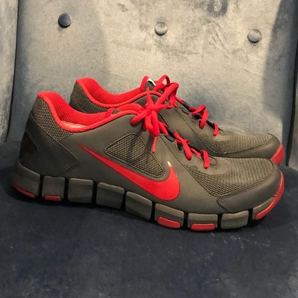 e919e0917a4a1 Mens Nike Flex Show TR 2 Red Grey Shoes Size 11